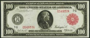 Picture of $100 1914 Red Seal FRN