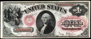 1878 $1 Legal Tender Value