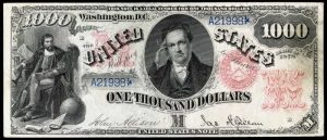 Picture of 1878 $1000 Legal Tender