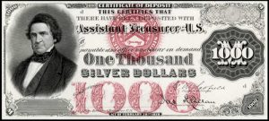 1878 $1000 Silver Certificate Value