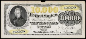 Picture of 1878 $10000 Legal Tender