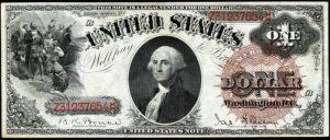 1880 $1 Legal Tender Value
