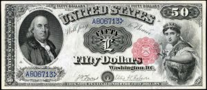 Picture of 1880 $50 Legal Tender