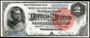 Picture of 1886 $2 Silver Certificate