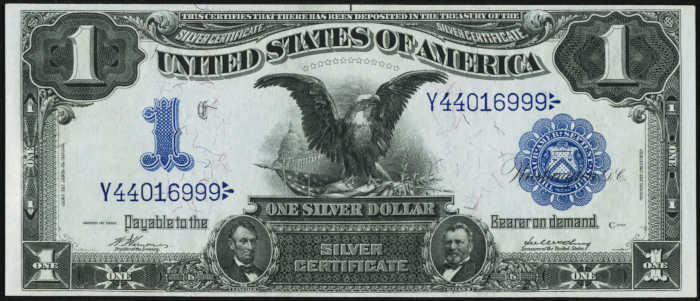 Picture of 1899 $1 Silver Certificate