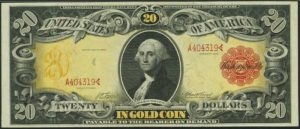 Picture of 1905 $20 Gold Certificate