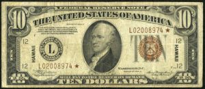 1935 $10 Hawaii Star Note Values