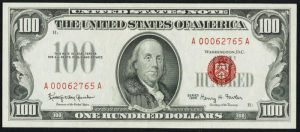 Picture of 1966 $100 Legal Tender