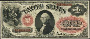 1874 $1 Legal Tender Value