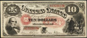 Picture of 1878 $10 Legal Tender