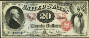 Picture of 1878 $20 Legal Tender
