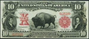 Picture of 1901 $10 Legal Tender
