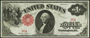 1917 $1 Legal Tender Value