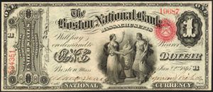 Original Series $1 National Bank Note