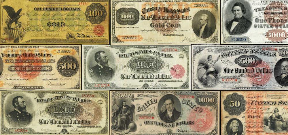 Top 10 most valuable paper money bills